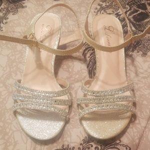 Shiney small heels